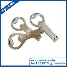 The new 2017 bottle opener shape card 2gb usb 2.0 flash drive