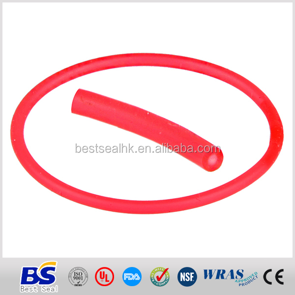 molded silicon rubber o ring