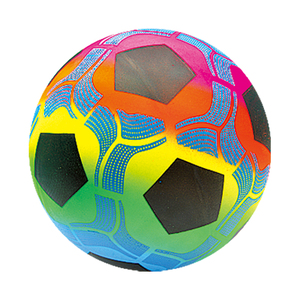Rainbow Full Printing 6 8 inches Vinyl PVC Ball
