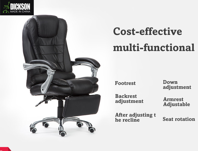 Dickson Great Durable Leather Reclining Boss Office Chair