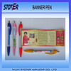 Advertising Banner Pen With Eco-friendly Material