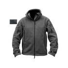 Hoodie Zipper Hot Sale Warm Military Zip Up Hoodie Fleece Tactical Sport Fleece Zipper Hoodie Jacket For Men With 5 Pockets