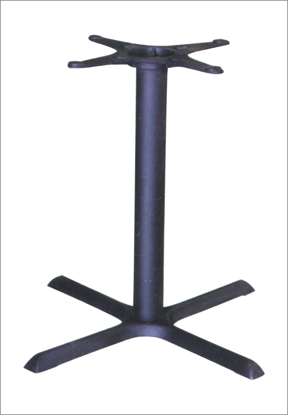 Single Leg Table Table Leg Support Wrought Iron Dining Table Base ...