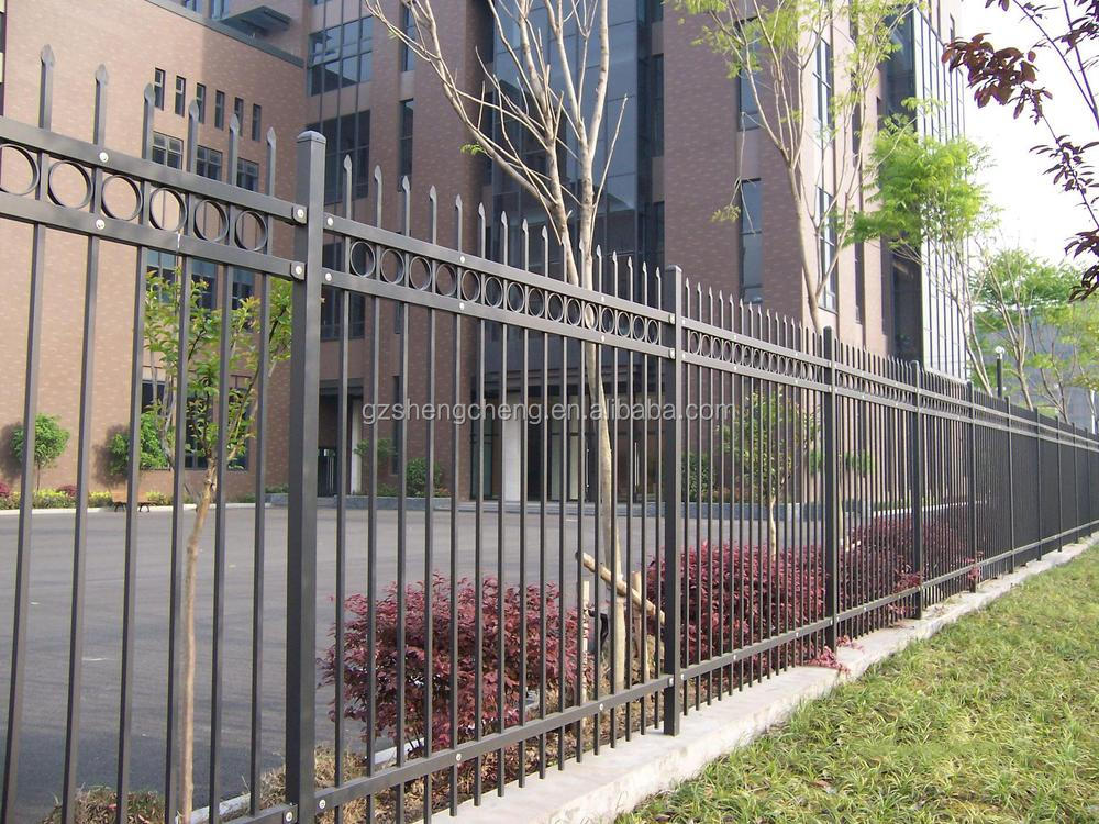 China factory modern wrought iron fencing outdoor