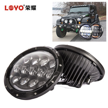 High Low Beam 105W 7 Inch Led Car Headlight For Jeep Compass Light JK CJ TJ Headlight