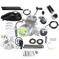 gasoline engine for bicycle/cdh 2 stroke 80cc pedal start bike motor kit