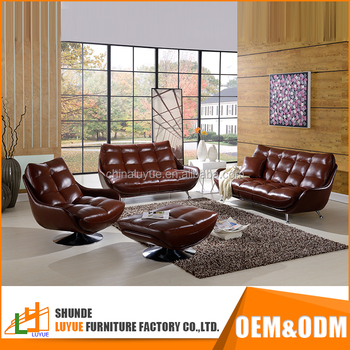 China Supplier High Grade European Style Customized Sectional Clean White Leather Sofa