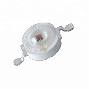625 - 630nm Red Color 3 watt epistar High Power LED with dome lens