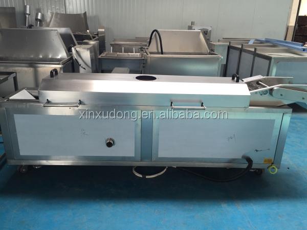 Manual Lift Electric Continuous Conveyor Fryer Buy