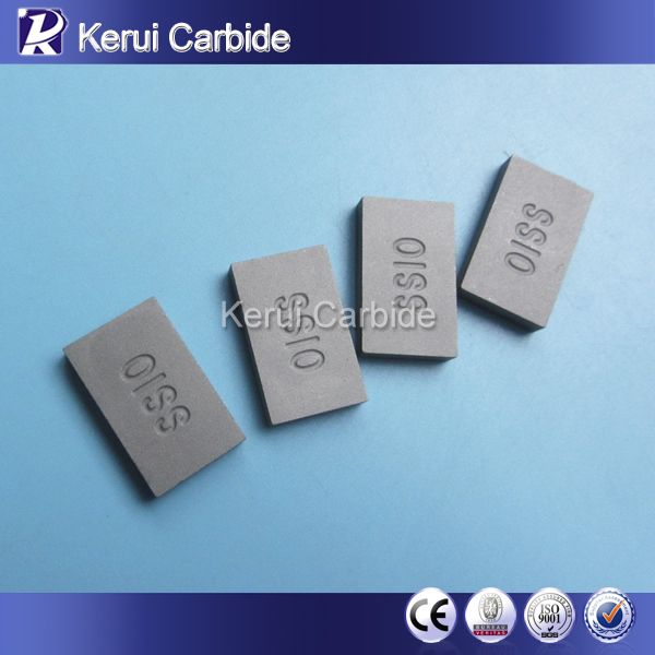 Tungsten carbide brazed cutting tools SS10 carbide tips