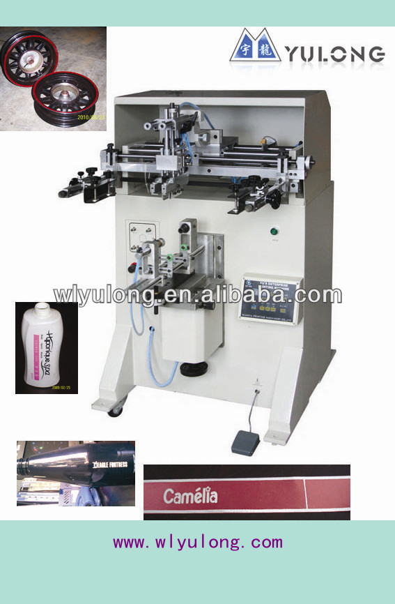 Yulong silk screen printer GYS-400 for Glass bottle