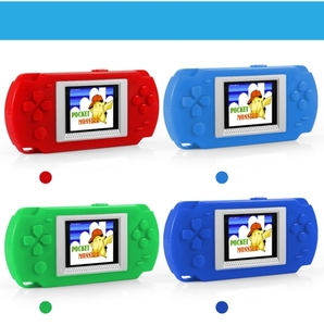 "2.0"" LCD Screen Slim Handheld Video Game Console 268 portable Game Players Built in 268 in 1"