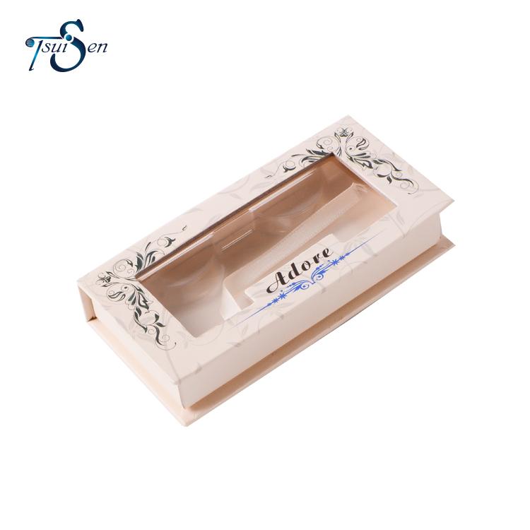 Eco-friendly New Design Custom Black Art Paper Box For Eyelashes Packaging