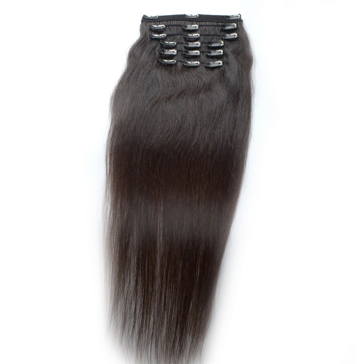 KBL Excellent easy 40 inch hair extensions clip in,clip in human hair extensions,no tangle afro hair clip in extensions