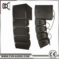 "dj tower speaker pro audio powered 8"" mini line array system outdoor speakers pa systems"