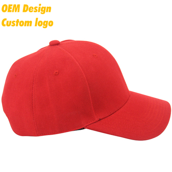 379b8c246d22b Best Stylish TC Plastic Buckle Blank plain flag print logo Red domed crown  Hip Hop dad