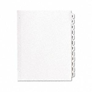 AVE11428 - Avery Index Maker Clear Label Divider