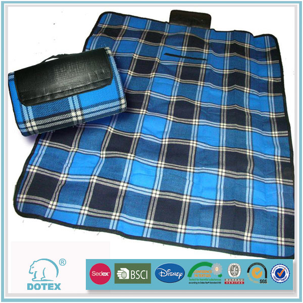 2016 new design picnic plaid blanket