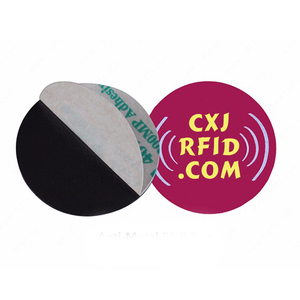 13.56mhz passive rewritable reusable Waterproof RFID token anti-metal NFC PVC Dsic tag