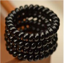 Kvalitní spirálová gumička do vlasů, 4 ks/bal