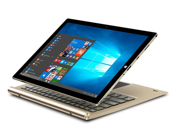 Intel Z8350 Laptops 2 in 1 Convertible Dual OS Win10 & Android Tablets PC 10.1 inch 1280*800 IPS w/o Keyboard