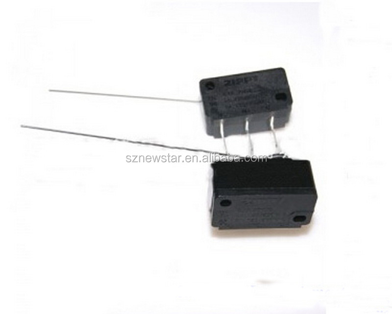 Factory price ZIPPY Microswitch for Coin Acceptor 3 Terminals microswitch with auxiliary actuator Arcade Machine Micro switch