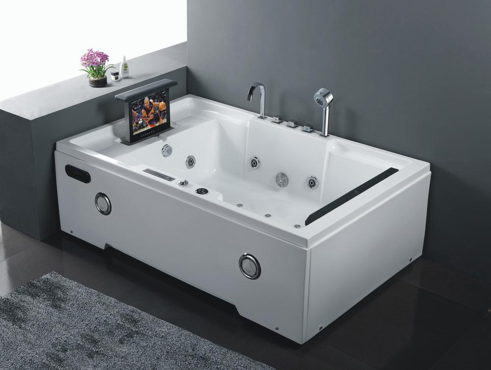 Hs-b305 P Shaped Bathtub/guangzhou Bathtub And Shower/small Square ...