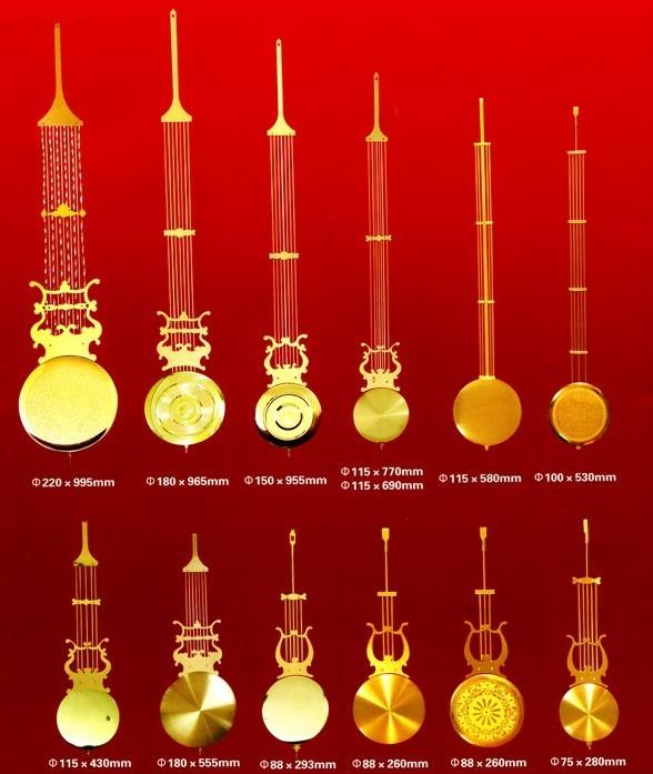 Gold Silver Rod Grandfather Clock Metal Pendulum Bob - Buy Pendulum  Bob,Dowsing Rod Product on Alibaba com