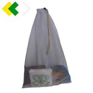 Good qaulity laundry bags in bulk 100% polyester mesh wash bag