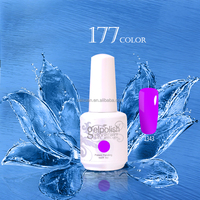 2015 CAIXUAN long lasting uv gel nail polish with OEM private label, America beauty choices colored uv gel polish