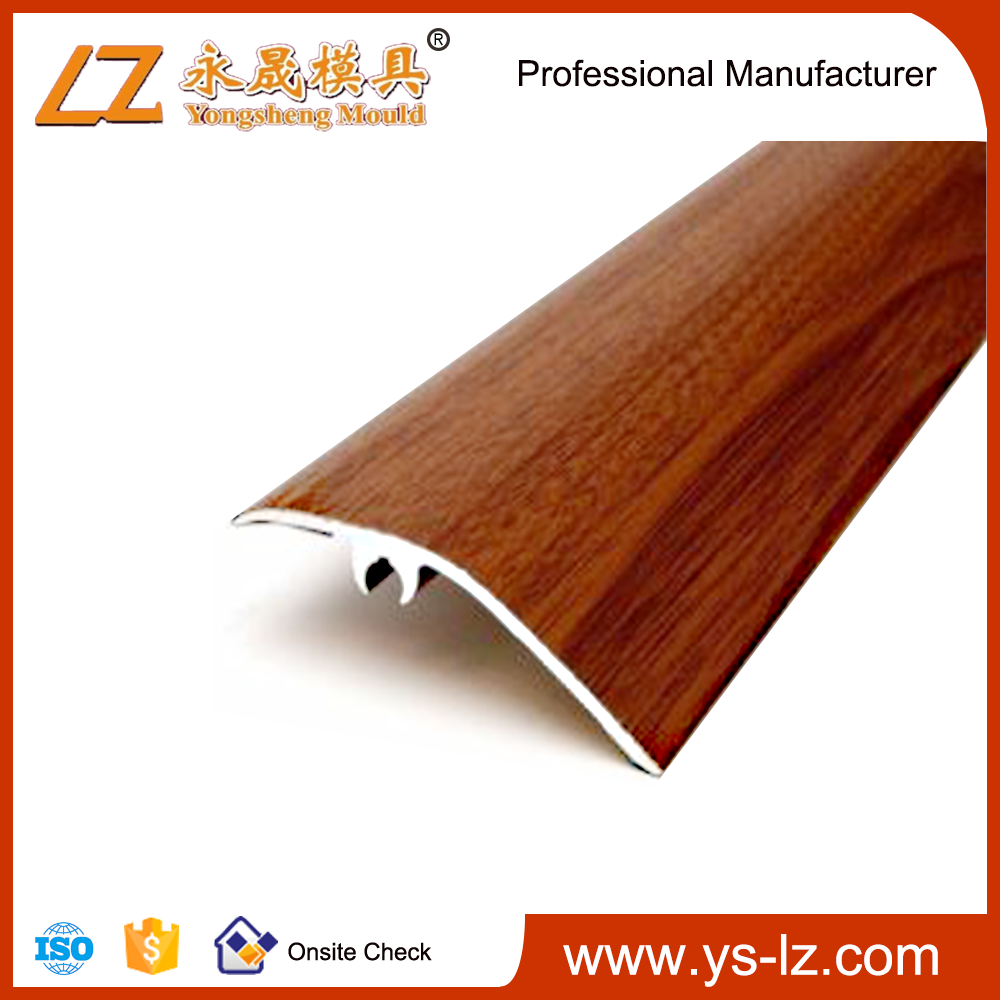Aluminum Fence Profile With Wooden Grain
