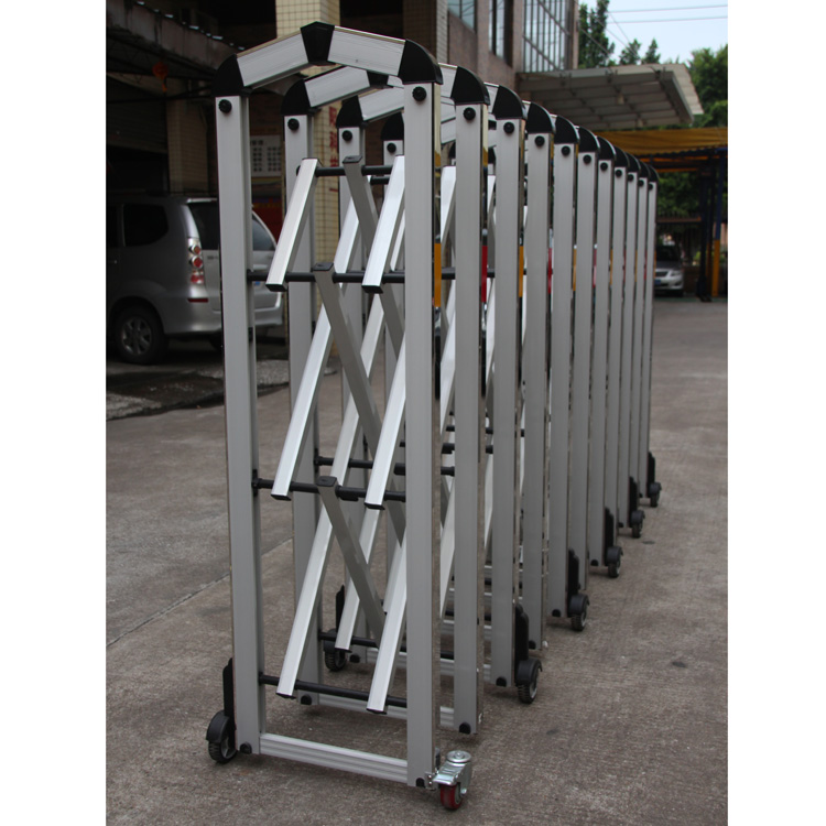 Flexible Expandable Folding Barrier