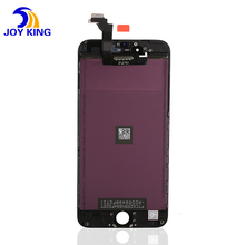 High quality for iPhone 6 display lcd assembly touch screen digitizer full replace+frame+camera+sensor flex cable White
