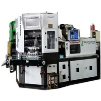 injection blow molding machine for plastic glue bottles