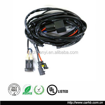 complete plug and play wire harness for led work lights and off road complete plug and play wire harness for led work lights and off road light bars