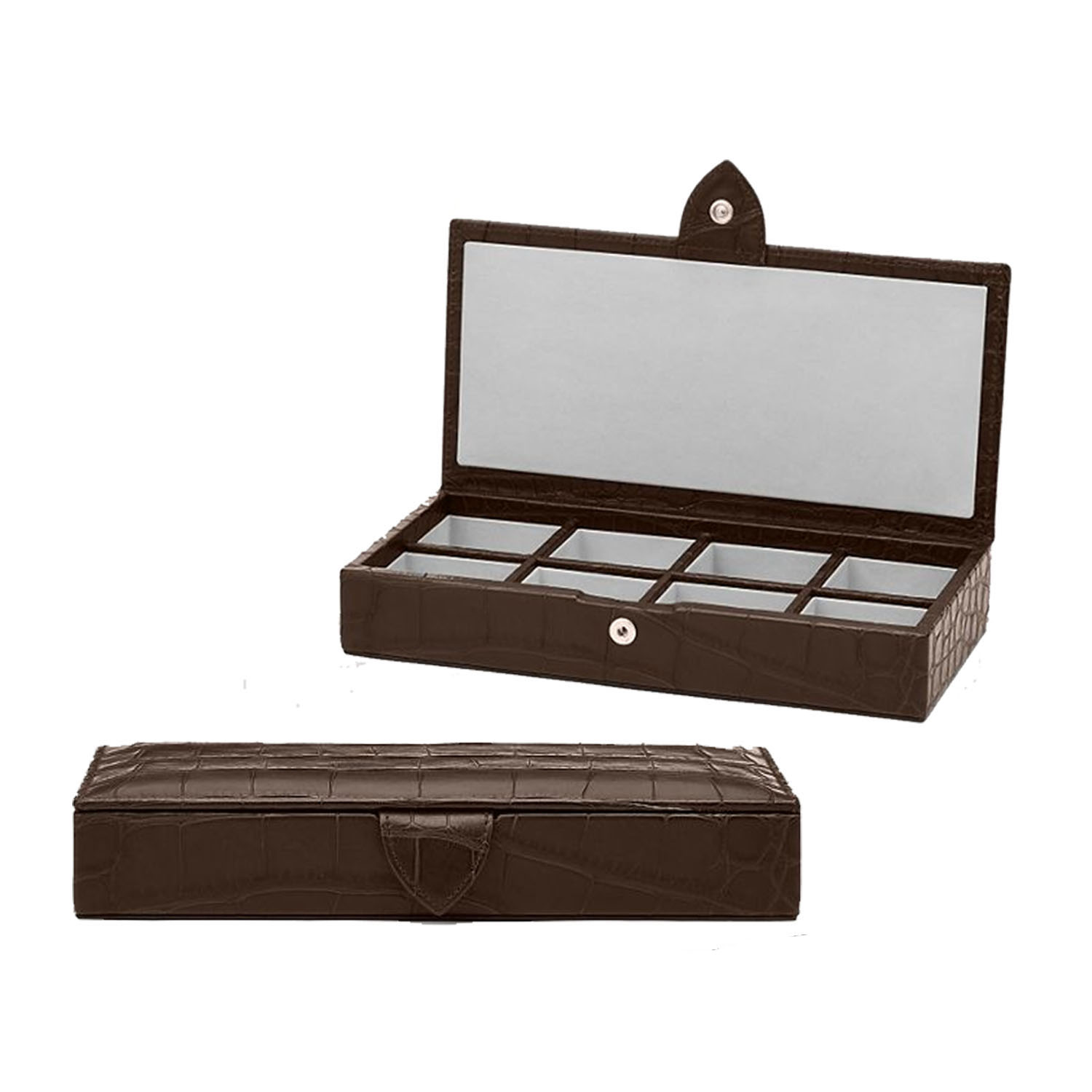 Wholesale custom vintage men jewelry cufflink box