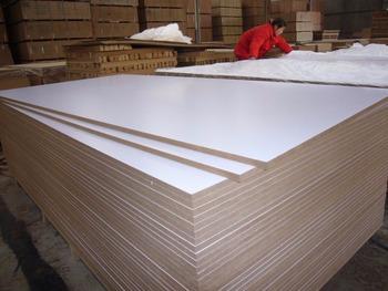 Haute Brillance Blanc Panneau De Mélamine Mdfqui Est Principalement Lexportation Vers Liranbonne Qualitéprix Compétitif Buy Panneau