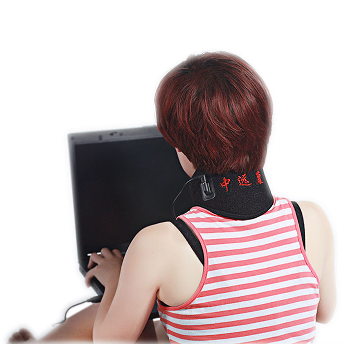 5V USB heated protable neck band, electric neck massager, heated neck protector