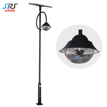 Low Voltage 12V Outdoor Solar Power Led Garden Light Pole With Remote