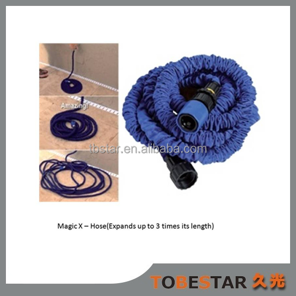 3 Times Garden Hose Heavy Expanding Water Coil Collapsible Shrinking Hoses Lightweight