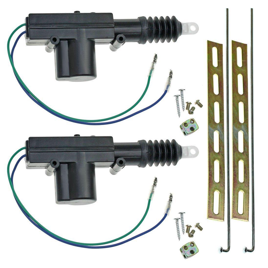Elink Earth™ Universal Car Power Door Lock Actuator 12 Volts Motor (2 Pack)