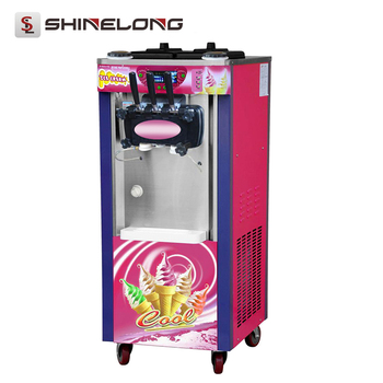 High Quality Commercial Soft Serve 3 Flavor Vending Ice Cream Machine For Sale