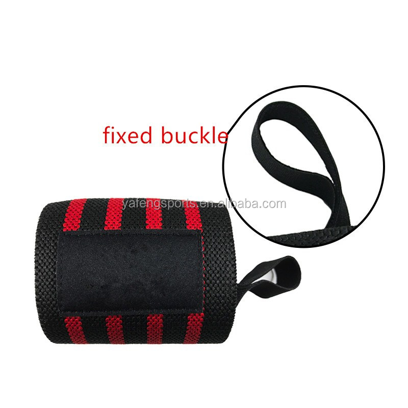 Latest style weightlifting wrist wraps powerlift wrist straps