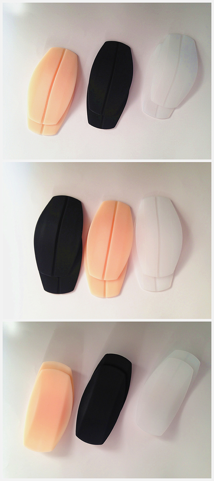 f488256fd58f3 Lady Protect Shoulders Bra Strap Pads Invisible Silicone Shoulder ...
