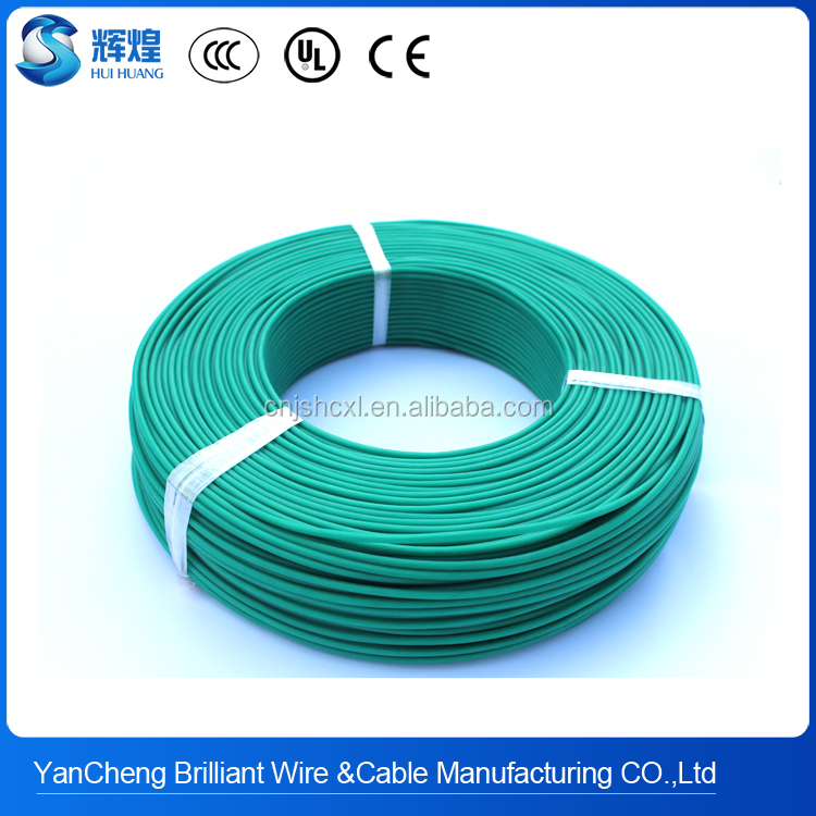 automatic 180deg.C SIHF flexible silicone insulated electric heating cable of China National Standard