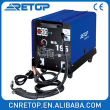 MIG175 CO2 single phase inverter welder welding machine wire feeder motor price nbc trading company
