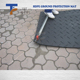 HDPE/UHMW/UHMWPE hard plastic ground protection anti-slip trackway sheet car anti-skid rubber road mat