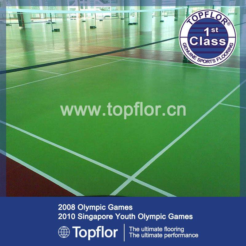 Indoor Pvc Sportvloer Tegels Voor Professionele Badminton