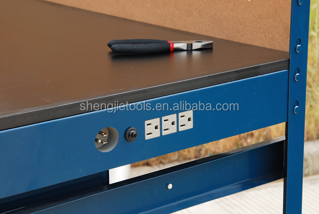 under desk small drawer cabinet workbench for electronics