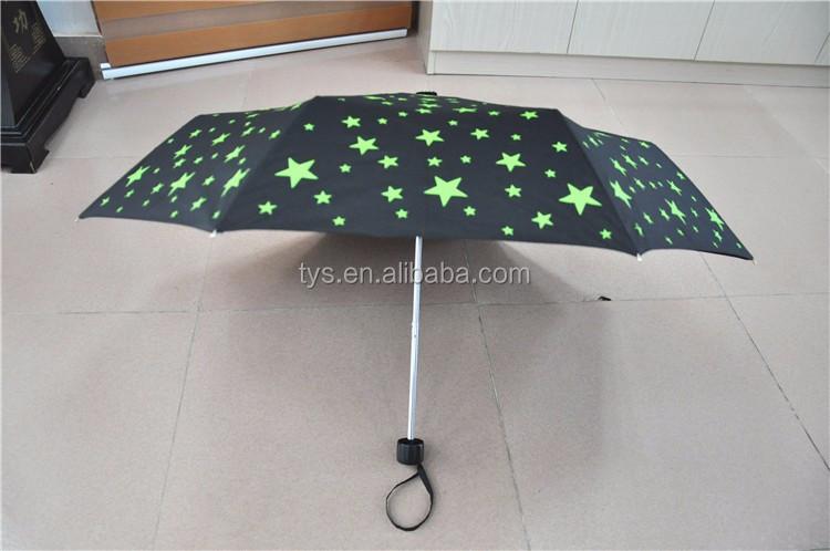 "42""Safety Manual Open ECO Friendly Waterproof Promotional Folding Rain Umbrella"